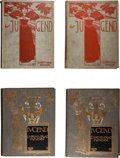 Books:Art & Architecture, [Art Nouveau]. [Orson Lowell's Signed Copy]. Jugend.Munchen: G. Hirth, 1897,1899. First edition.... (Total: 4 Items)