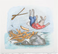 Books:Children's Books, [Garth Williams]. Rosemary Wells. Illustration by Garth Williamsfor Benjamin's Treasure, on page 11, adapted fr...