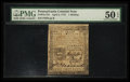 Colonial Notes:Pennsylvania, Pennsylvania April 3, 1772 1s PMG About Uncirculated 50 EPQ.. ...