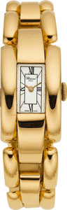 Estate Jewelry:Watches, Chopard Lady's Gold La Strada Wristwatch, modern . ...