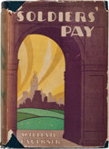 Books:Literature 1900-up, William Faulkner. Soldier's Pay. New York: Boni &Liveright, 1926. First edition, first printing, one of approxi...