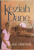 Books:Mystery & Detective Fiction, Sue Grafton. Keziah Dane. New York: The Macmillan Company,[1967]. First edition of the author's first novel. ...