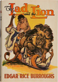 Books:Science Fiction & Fantasy, Edgar Rice Burroughs. The Lad and the Lion. Tarzana: EdgarRice Burroughs, [1938]. First edition....