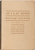 Books:Literature 1900-up, William Faulkner. As I Lay Dying. New York: JonathanCape: Harrison Smith, 1930. First edition, first issue (wit...