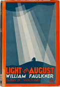 Books:Literature 1900-up, William Faulkner. Light in August. New York: Harrison Smithand Robert Haas, 1932. First edition, first printing wit...