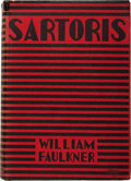 Books:Literature 1900-up, William Faulkner. Sartoris. New York: Harcourt, Brace andCompany, [1929]. First edition. Octavo. [iv], 380 page...