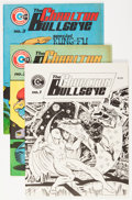 Magazines:Superhero, Charlton Bullseye #1-5 Group (Charlton, 1975-76) Condition: AverageVF+.... (Total: 6 Items)
