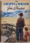 Books:Literature 1900-up, John Steinbeck. The Grapes of Wrath. New York: Viking,[1939]. First edition, first printing. Octavo. 619 pages. Pub...