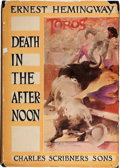 Books:Literature 1900-up, Ernest Hemingway. Death in the Afternoon. New York: CharlesScribner's Sons, 1932. First edition, first printing...