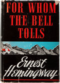 Books:Literature 1900-up, Ernest Hemingway. For Whom the Bell Tolls. New York: CharlesScribner's Sons, 1940. First edition....