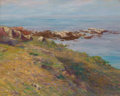 Fine Art - Painting, American:Modern  (1900 1949)  , WALTER LEIGHTON CLARK (American, 1859-1935). The Shore ofAppledore. oil on canvas. 16 x 20 inches (40.6 x 50.8 cm).Sig...