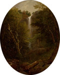 Paintings, JOHN WILLIAM CASILEAR (American, 1811-1893). In the Catskills. Oil on canvas laid on board. 19-3/4 x 15-1/2 inches (50.2...