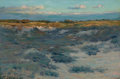 Fine Art - Painting, American:Antique  (Pre 1900), HENRY GOLDEN DEARTH (American, 1864-1918). Heather Plain,Easthampton, Long Island, 1890. Oil on canvas. 20 x 30 inches...