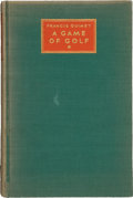 "Golf Collectibles:Autographs, 1932 Francis Ouimet Signed ""A Game of Golf"" Limited EditionBook...."