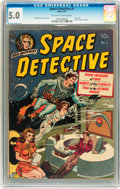 Golden Age (1938-1955):Science Fiction, Space Detective #1 (Avon, 1951) CGC VG/FN 5.0 Off-white to whitepages....