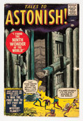 Silver Age (1956-1969):Horror, Tales to Astonish #1 (Marvel, 1959) Condition: Apparent GD/VG....