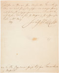 "Autographs:Non-American, Frederick Wilhelm III, King of Prussia, Autograph Letter Signed""Frederick Wilhelm"" during the last year of his reign...."