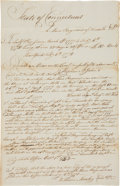 Miscellaneous:Ephemera, [Revolutionary War]. Fair Copy of a Pay Receipt for the Military Service of Moses Raymond of Samuel Comstock's Company....