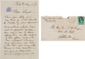"""Autographs:Military Figures, George Meade Autograph Letter Signed """"Geo. G. Meade.""""..."""