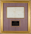 Autographs, [Revolutionary War] Continental Army Surgeon's Invoice forServices...