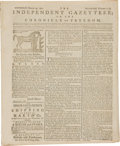 Miscellaneous:Newspaper, [Newspaper]. The Independent Gazetteer; or, the Chronicleof Freedom....