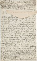 "Autographs:Celebrities, Cole Younger Autograph Letter Signed ""Cole Younger.""..."