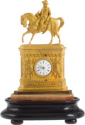 Political:3D & Other Display (pre-1896), Zachary Taylor: French Gilt Clock....