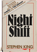 Books:Horror & Supernatural, Stephen King. Night Shift. Garden City, New York: Doubleday & Company, Inc., 1978. First edition, first impressi...