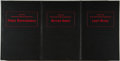 Books:Horror & Supernatural, Robert Bloch. SIGNED. Selected Stories of Robert Bloch. Los Angeles: Underwood-Miller, 1987. First editions. Three o... (Total: 3 Items)