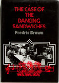 Books:Mystery & Detective Fiction, Fredric Brown. LIMITED. The Case of the Dancing Sandwiches.[Volcano]: Dennis McMillan, 1985. First edition, limit...