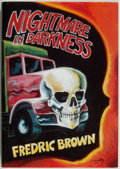 Books:Mystery & Detective Fiction, Fredric Brown. LIMITED. Nightmare In Darkness. [MiamiBeach]: Dennis McMillan, 1987. First edition, limited to...