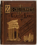 Books:Children's Books, Hezekiah Butterworth. Zigzag Journeys in Classic Lands.Boston: Estes and Lauriat, 1881. Early edition. Octavo. 318 ...