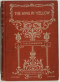 Books:Science Fiction & Fantasy, [Jerry Weist]. Robert W. Chambers. The King in Yellow. New York: F. Tennyson Neely, 1895. First edition. Octavo....