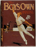 """Books:Children's Books, [Children's Literature]. The Boy's Own Annual. London:""""Boy's Own Paper"""", 1914. First edition of the thirty-sixt..."""