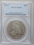 Bust Half Dollars: , 1829/7 50C XF40 PCGS. PCGS Population (31/160). NGC Census:(9/155). Numismedia Wsl. Price for problem free NGC/PCGS coin ...