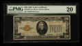 Small Size:Gold Certificates, Fr. 2402 $20 1928 Gold Certificate. PMG Very Fine 20.. ...