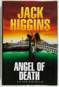 Books:Mystery & Detective Fiction, Jack Higgins. SIGNED. Angel of Death. London: MichaelJoseph, 1995. First English edition. Signed by the autho...