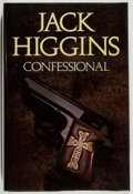 Books:Mystery & Detective Fiction, Jack Higgins. SIGNED. Confessional. London: Collins, 1985.First English edition. Signed by the author on the ...