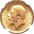 Australia, Australia: George V gold Sovereign 1921M,...