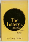 Books:Science Fiction & Fantasy, Shirley Jackson. The Lottery. New York: Farrar, Straus, 1949. Second printing. Octavo. 306 pages. Publisher's bi...