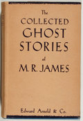 Books:Horror & Supernatural, M. R. James. The Collected Ghost Stories of M. R. James.London: Edward Arnold, [1949]. Later impression. Twelvemo. ...