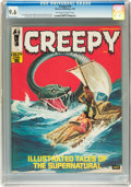 Magazines:Horror, Creepy #18 (Warren, 1968) CGC NM+ 9.6 Off-white to white pages....