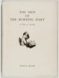 Books:Science Fiction & Fantasy, David H. Keller. SIGNED/LIMITED. The Sign of the Burning Hart. [n. p.]: National Fantasy Fan Federation, [1948]. Fir...