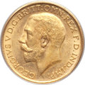 Australia, Australia: George V gold Sovereign 1921S,...