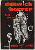 Books:Horror & Supernatural, H. P. Lovecraft. The Dunwich Horror and Others. Sauk City:Arkham, 1963. First edition, with second state dust jacke...