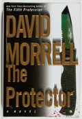 Books:Mystery & Detective Fiction, David Morrell. SIGNED. The Protector. New York: WarnerBooks, 2003. First printing. Signed by the author on th...