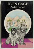 Books:Science Fiction & Fantasy, [Jerry Weist]. Andre Norton. SIGNED. Iron Cage. New York: The Viking Press, 1974. First edition. Signed by the...