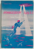 Books:Science Fiction & Fantasy, Philip Francis Nowlan. Armageddon 2419 A.D. New York: Avalon Books, [1962]. First edition, first printing. Octav...