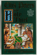 Books:Mystery & Detective Fiction, Ellis Peters. SIGNED. The Holy Thief. The Nineteenth Chronicle of Brother Cadfael. London: Headline Book Publish...