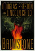 Books:Mystery & Detective Fiction, Douglas Preston and Lincoln Child. SIGNED. Brimstone. NewYork: Warner Books, 2004. First printing. Signed by ...